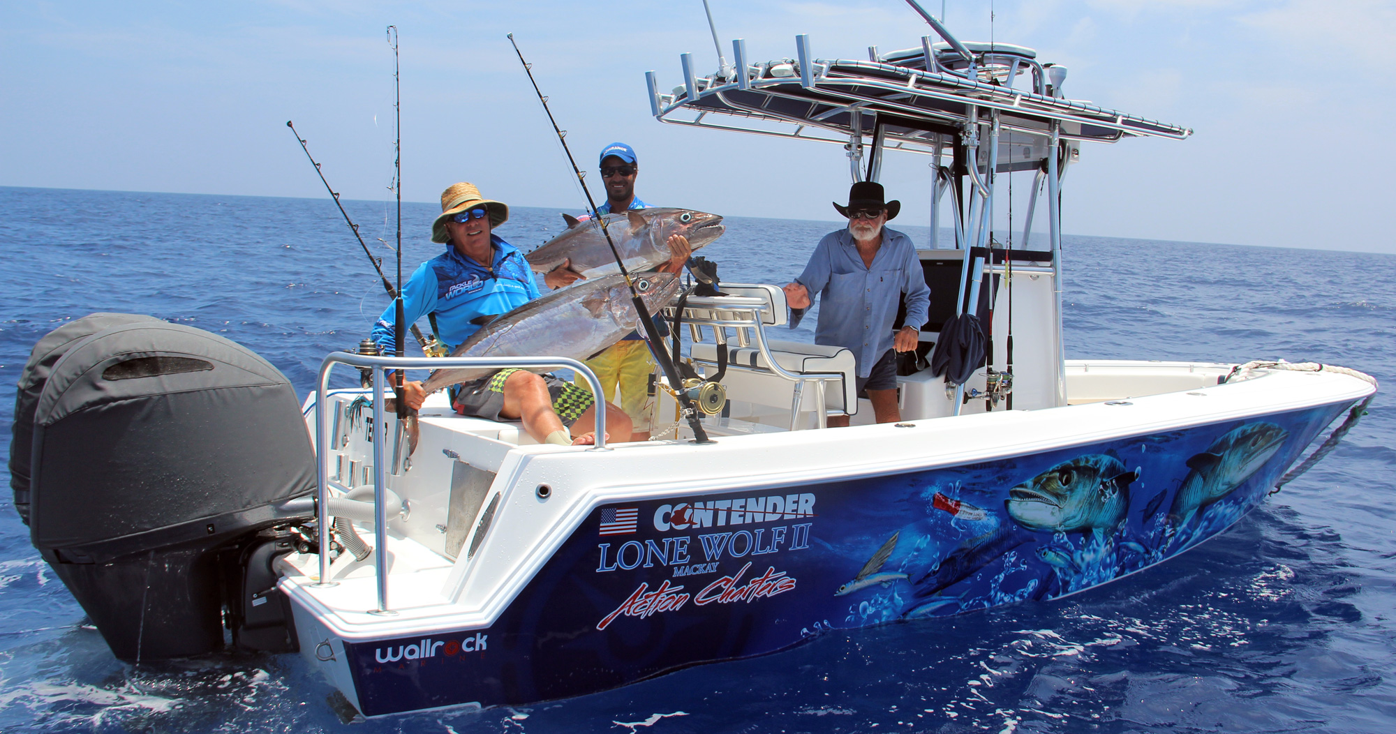 Action Charters | Best Fishing Charters in Mackay